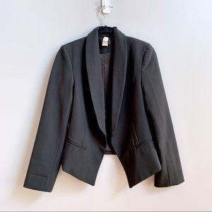 Aqua Black Tuxedo Jacket